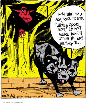 Comic Strip John Deering  Strange Brew 2017-03-07 Satan