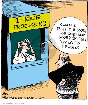 Comic Strip John Deering  Strange Brew 2017-03-15 brain
