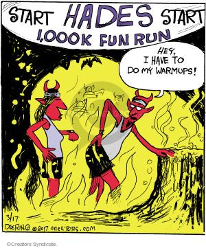 Comic Strip John Deering  Strange Brew 2017-03-17 Satan