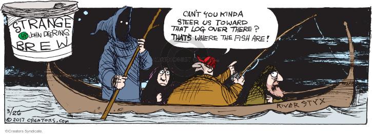 Cartoonist John Deering  Strange Brew 2017-03-26 Greek mythology