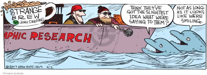 Comic Strip John Deering  Strange Brew 2017-04-02 ocean