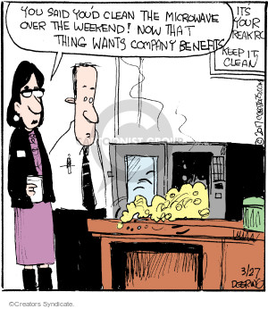 Comic Strip John Deering  Strange Brew 2017-03-27 weekend