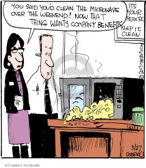 Cartoonist John Deering  Strange Brew 2017-03-27 room