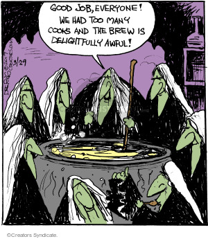 Cartoonist John Deering  Strange Brew 2017-03-29 magic