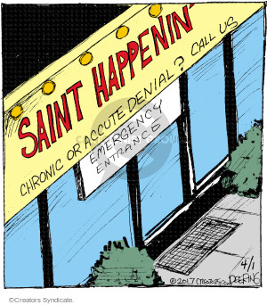 Comic Strip John Deering  Strange Brew 2017-04-01 medical