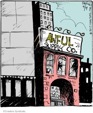 Cartoonist John Deering  Strange Brew 2017-04-04 supply