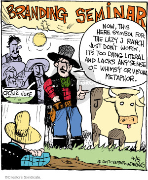 Comic Strip John Deering  Strange Brew 2017-04-05 symbol