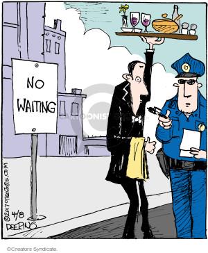 Comic Strip John Deering  Strange Brew 2017-04-08 policeman