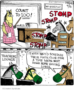 Cartoonist John Deering  Strange Brew 2017-04-13 teacher