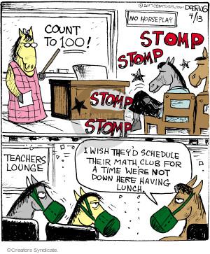 Cartoonist John Deering  Strange Brew 2017-04-13 school