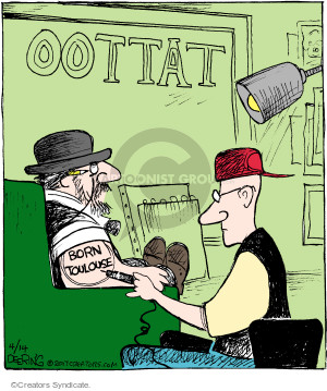 Comic Strip John Deering  Strange Brew 2017-04-14 lose