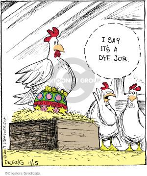 Comic Strip John Deering  Strange Brew 2017-04-15 Easter egg