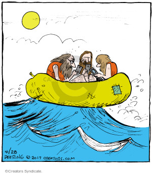 Comic Strip John Deering  Strange Brew 2017-04-28 ocean