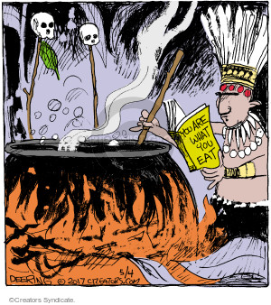 Cartoonist John Deering  Strange Brew 2017-05-04 cook