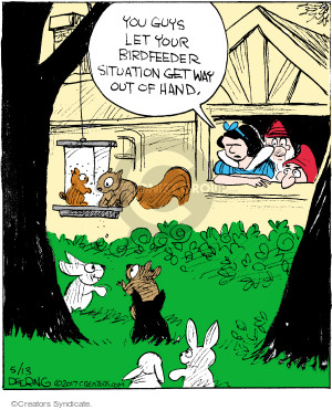 Comic Strip John Deering  Strange Brew 2017-05-13 bird