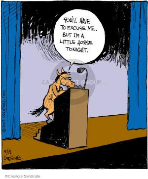 Comic Strip John Deering  Strange Brew 2017-05-18 speech