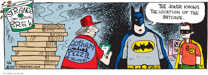 Comic Strip John Deering  Strange Brew 2017-06-04 super