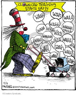 Cartoonist John Deering  Strange Brew 2017-06-05 baby