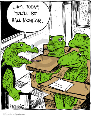 Comic Strip John Deering  Strange Brew 2017-06-07 school