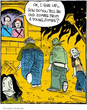 Comic Strip John Deering  Strange Brew 2017-06-12 clothes