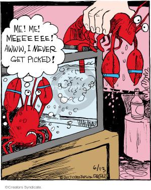 Comic Strip John Deering  Strange Brew 2017-06-13 restaurant