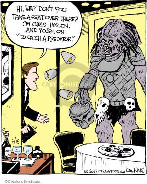 Comic Strip John Deering  Strange Brew 2017-06-15 movie