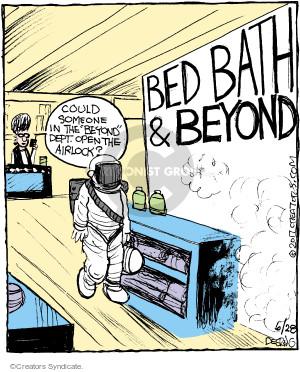 Comic Strip John Deering  Strange Brew 2017-06-28 shop