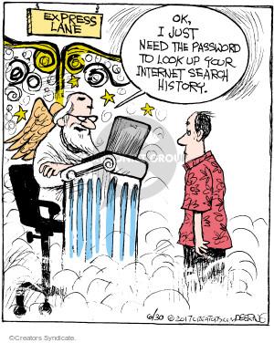 Comic Strip John Deering  Strange Brew 2017-06-30 heaven