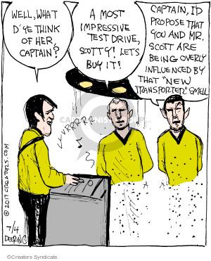 Comic Strip John Deering  Strange Brew 2017-07-04 television