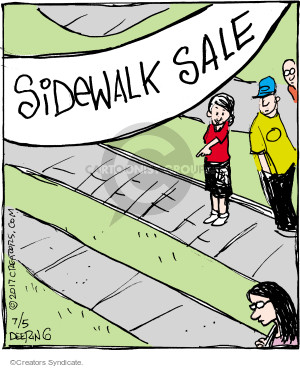 Comic Strip John Deering  Strange Brew 2017-07-05 sell