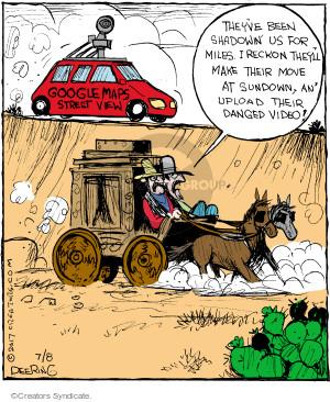 Comic Strip John Deering  Strange Brew 2017-07-08 follow