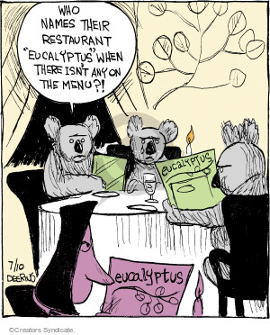 Comic Strip John Deering  Strange Brew 2017-07-10 restaurant