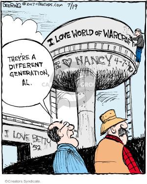 Comic Strip John Deering  Strange Brew 2017-07-19 world