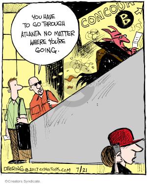 Cartoonist John Deering  Strange Brew 2017-07-21 travel