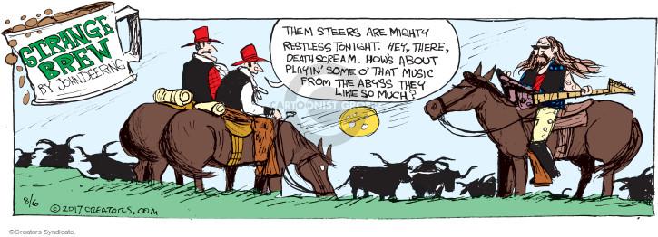 Comic Strip John Deering  Strange Brew 2008-06-17 strange