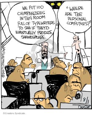 Comic Strip John Deering  Strange Brew 2017-08-01 technology