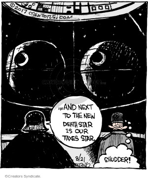 Comic Strip John Deering  Strange Brew 2017-08-21 movie