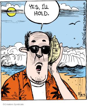 Comic Strip John Deering  Strange Brew 2017-08-23 telephone