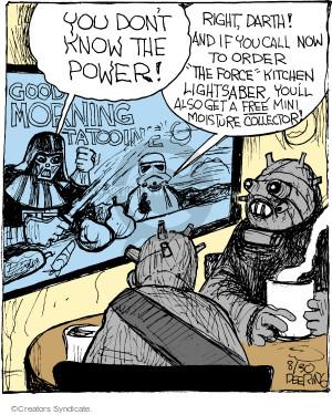 Comic Strip John Deering  Strange Brew 2017-08-30 good