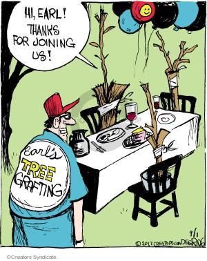 Comic Strip John Deering  Strange Brew 2017-09-01 dinner