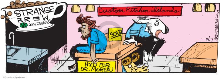 Cartoonist John Deering  Strange Brew 2017-09-17 book