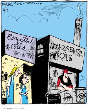 Comic Strip John Deering  Strange Brew 2017-09-13 sell