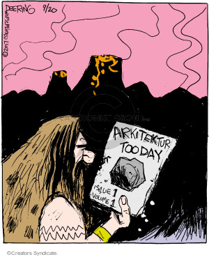 Cartoonist John Deering  Strange Brew 2017-09-20 volume