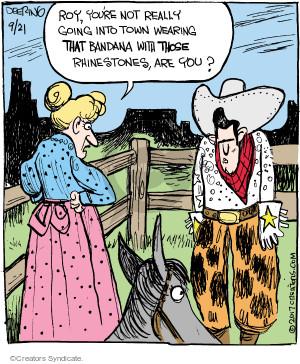Comic Strip John Deering  Strange Brew 2017-09-21 clothes