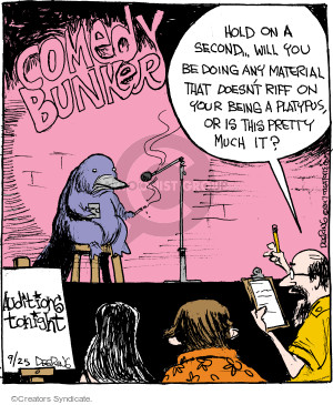 Comic Strip John Deering  Strange Brew 2017-09-25 pretty