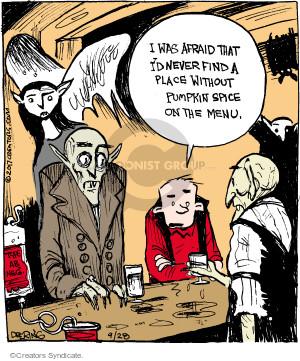 Comic Strip John Deering  Strange Brew 2017-09-28 pumpkin spice