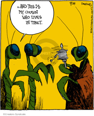Comic Strip John Deering  Strange Brew 2017-09-29 insect