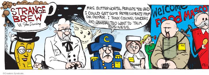 Comic Strip John Deering  Strange Brew 2017-10-01 Doughboy