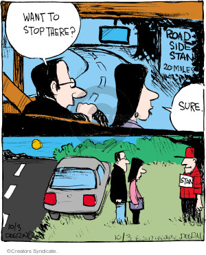 Comic Strip John Deering  Strange Brew 2017-10-03 road