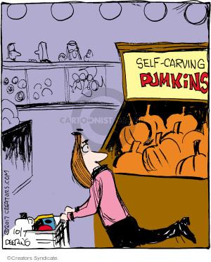 Comic Strip John Deering  Strange Brew 2017-10-07 fall autumn